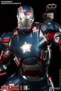 Iron Patriot Quarter Scale Maquette - front close up