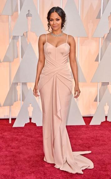 Oscars 2015 - Zoe Saldana2