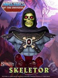 Skeletor bust - front