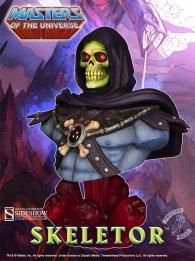 Skeletor bust - right