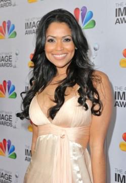 Tracey+E+Edmonds+43rd+NAACP+Image+Awards white dress