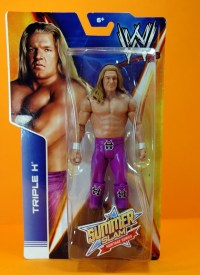 Triple H Basic Summerslam Heritage figure - in package close up