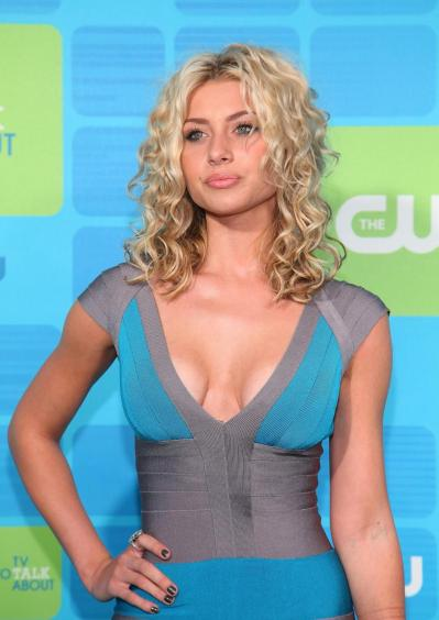 Aly Michalka- low cut top