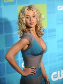 Aly Michalka- side boob
