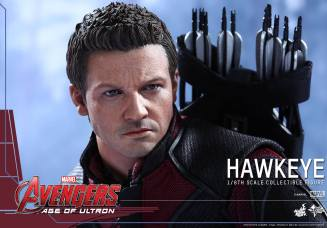 Avengers Age of Ultron Hawkeye figure - close up