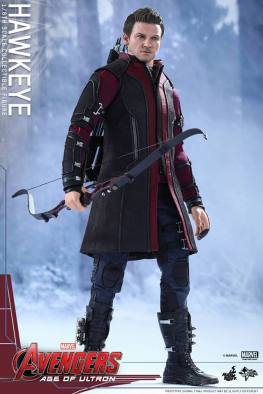 Avengers Age of Ultron Hawkeye figure - profile shot