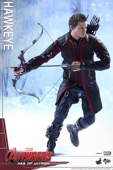 Avengers Age of Ultron Hawkeye figure - running