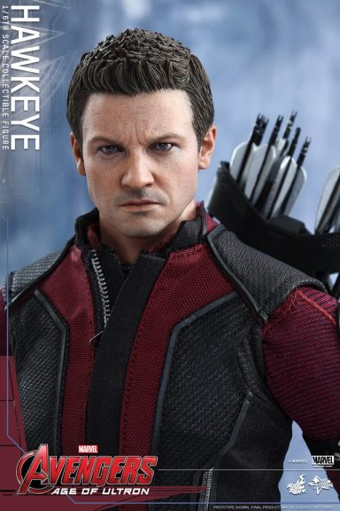 Avengers Age of Ultron Hawkeye figure - straight shot