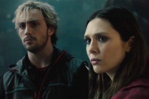 Avengers Age of Ultron - Quicksilver and Scarlet Witch
