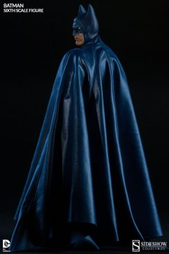 Batman Sideshow Collectibles 12 inch figure - covered in cape