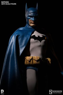Batman Sideshow Collectibles 12 inch figure - shadowed