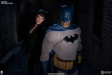 Batman Sideshow Collectibles 12 inch figure - with Catwoman