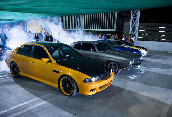 Fast & Furious - racing scene
