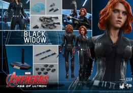 Hot Toys Avengers Age of Ultron - Black Widow - collage
