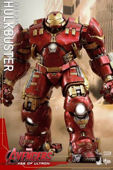 Hot Toys Avengers Age of Ultron - Hulkbuster Iron Man - straight ahead