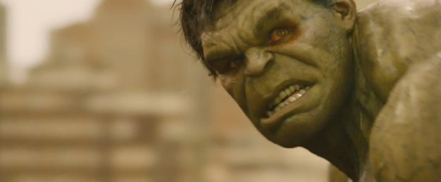 Hulk Avengers Age of Ultron red eyes