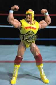 Hulk Hogan Defining Moments figure - flexing the pythons