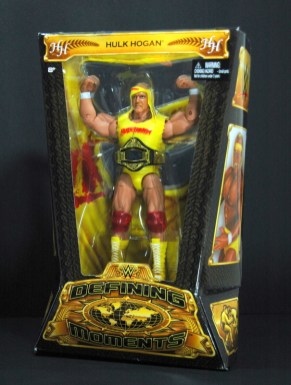 Hulk Hogan Defining Moments figure - in package