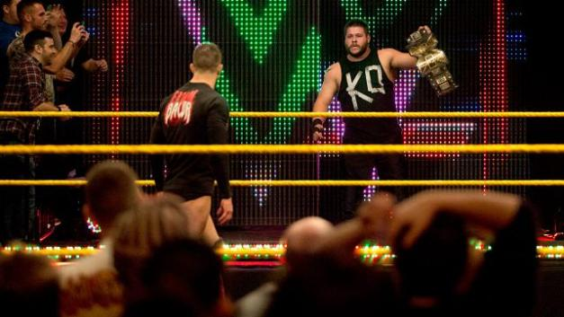 NXT 3-18-15 - Finn Balor and Kevin Owens face off