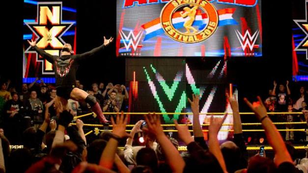 NXT 3-18-15 - Finn Balor poses