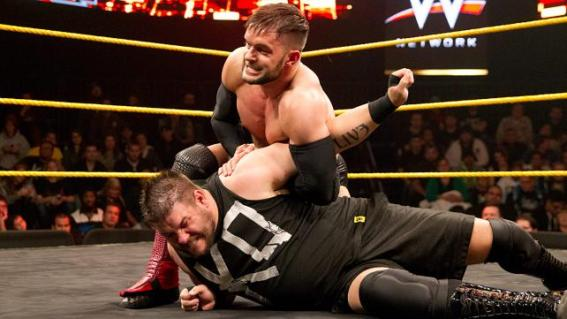 NXT -  Balor vs Owens