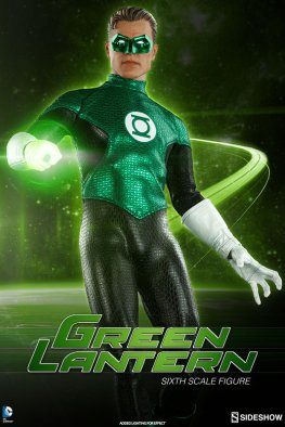 Sideshow Collectibles - Green Lantern Sixth Scale figure - standing