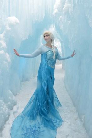 Stephanie Stork cosplay - Elsa from Frozen