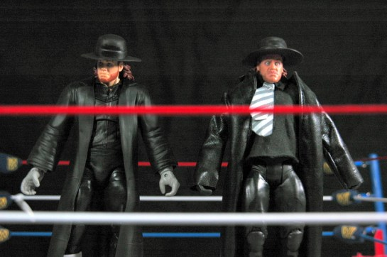 The Undertaker Wrestlemania Heritage - compairson with Entrance Great