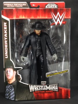 The Undertaker Wrestlemania Heritage Series - package front.