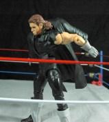 The Undertaker Wrestlemania Heritage - taking jacket off.
