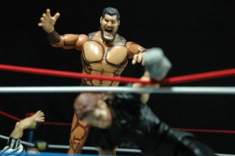 The Undertaker - Wrestlemania The Streak - vs Giant Gonzalez -giant closing in