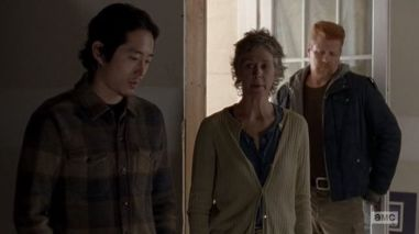 The Walking Dead - Conquer - Glenn, Carol and Abraham