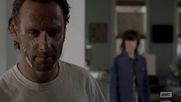 The Walking Dead - Conquer - Rick and Carl