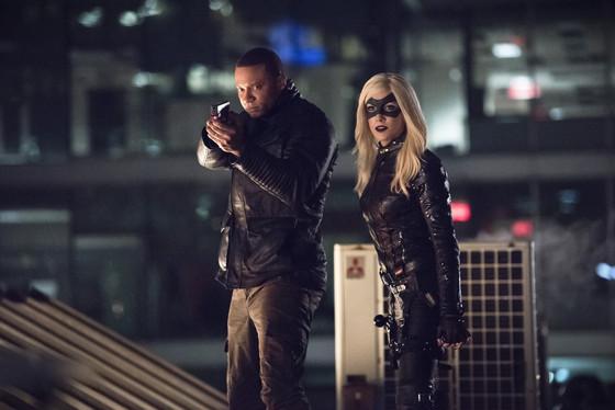 Arrow - Al Sah-Him - Diggle and Black Canary