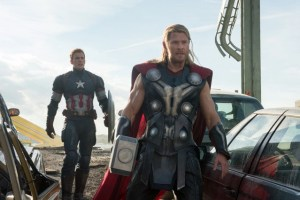 Avengers - Age of Ultron - Captain America and Thor
