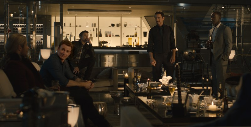 Avengers - Age of Ultron - Thor, Cap, Hawkeye, Stark and Rhodey