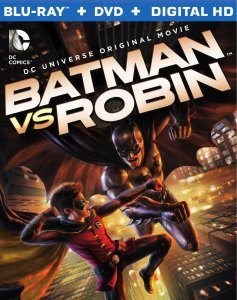 Batman vs Robin box art