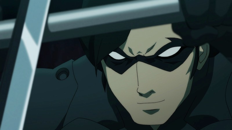 Batman vs Robin--Nightwing