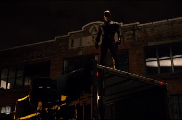 Daredevil - Netflix episode 13 Daredevil - Daredevil costume showdown