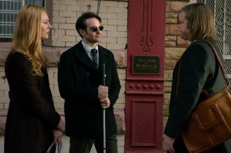 Daredevil - Netflix episode 13 Daredevil - Karen, Matt and Foggy