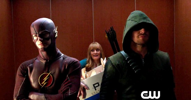 Flash Arrow Fight Club