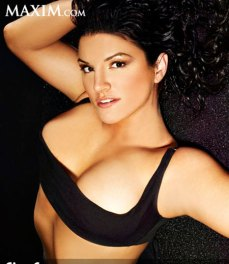 Gina Carano - black top