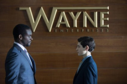 Gotham - The Anvil or the Hammer - Lucius Fox and Bruce Wayne