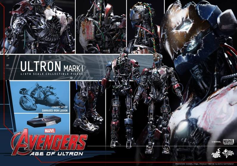 Hot Toys Avengers Age of Ultron - Ultron Mark 1 - collage main