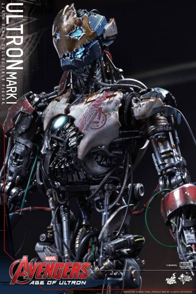 Hot Toys Avengers Age of Ultron - Ultron Mark 1 - left side