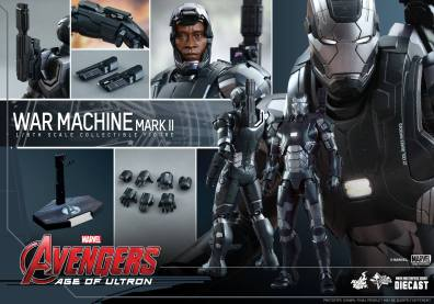 Hot Toys Avengers Age of Ultron War Machine -collage
