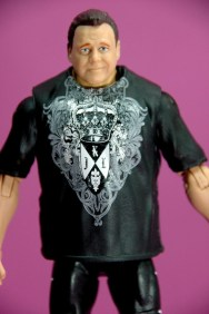 Jerry Lawler figure Basic 49 - Mattel - close up
