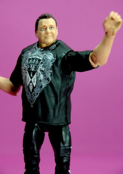 Jerry Lawler figure Basic 49 - Mattel - waving to fans