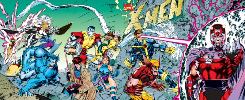 jim lee x-men 1 vs magneto
