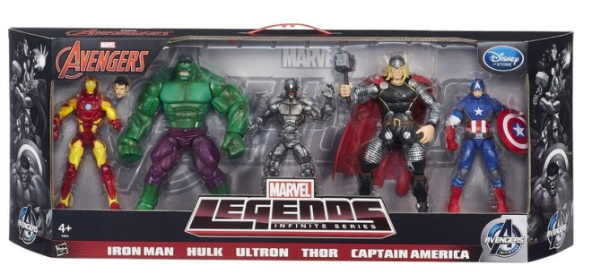 Marvel Legends - Age of Ultron Disney EU exclusive -package